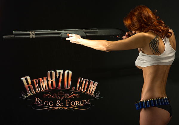 Download FREE Rem870.com Wallpaper, Hot Girl with Remington 870 Shotgun