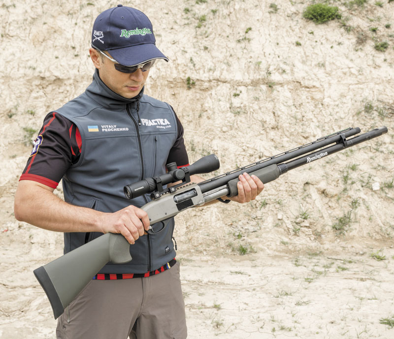 Remington 870 with Nightforce Scope