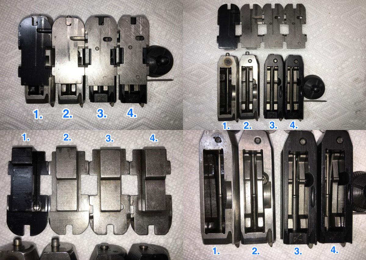 Evolution of the Remington 870 breech bolt and slide assembly