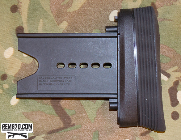 Magpul SGA OEM Butt Pad Adapter Remington 870
