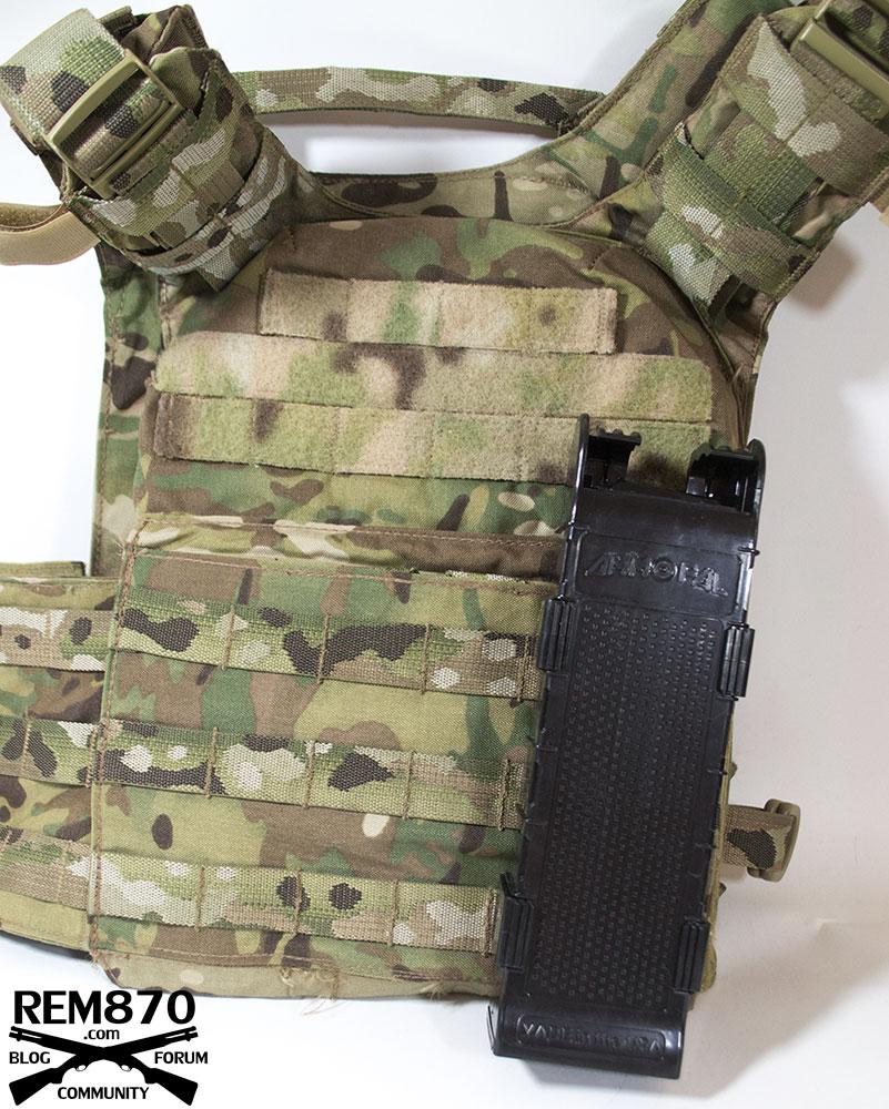 AmmoPal Shotgun Shell Dispenser on Molle Vest