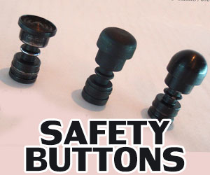 Remington 870 Safety Buttons