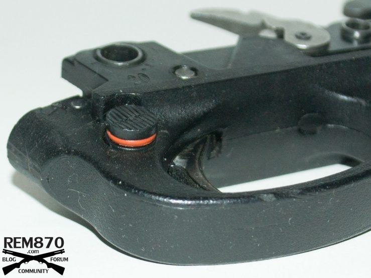 Fortmann's Left Hand Safety Conversion for Remington 870