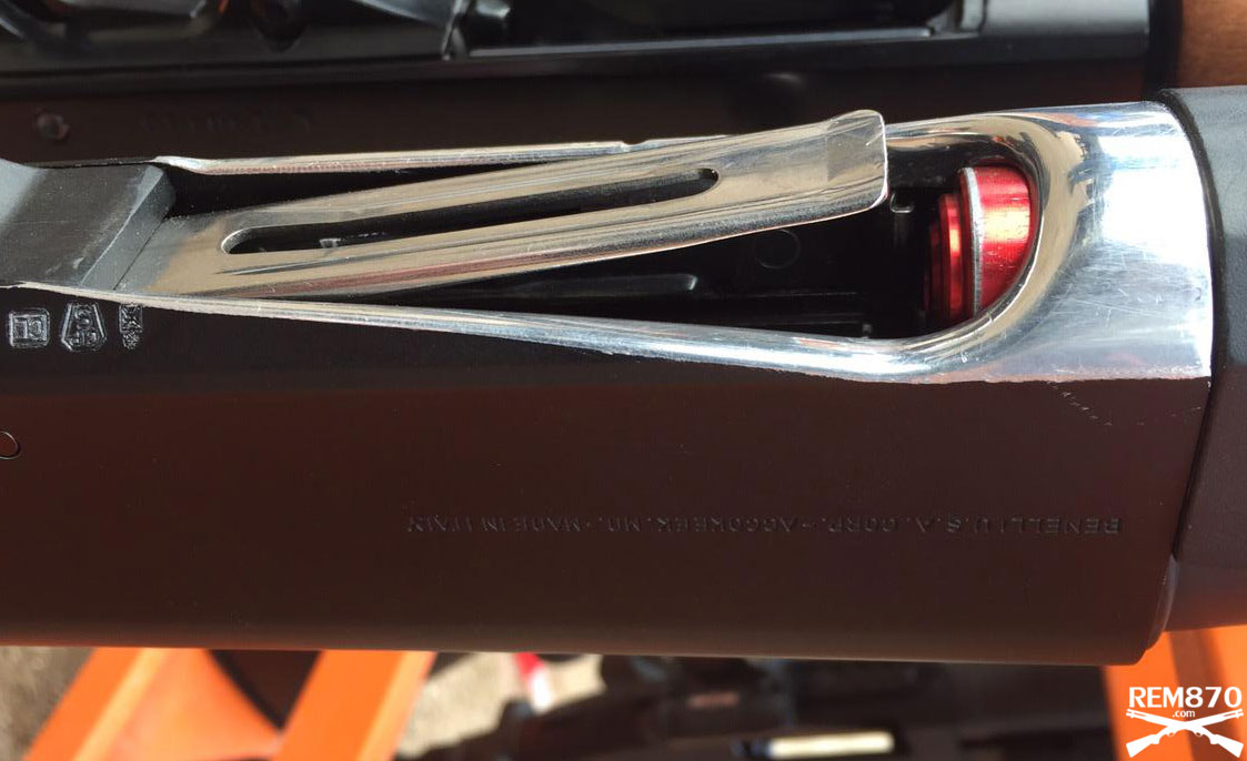 Benelli m2 loading port modification