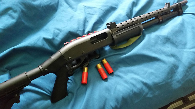 Remington 870 with Heatshield
