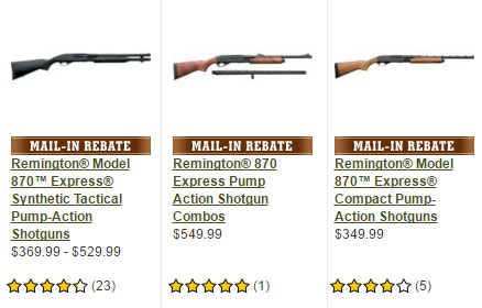 You Can Now Buy Remington 870 Online