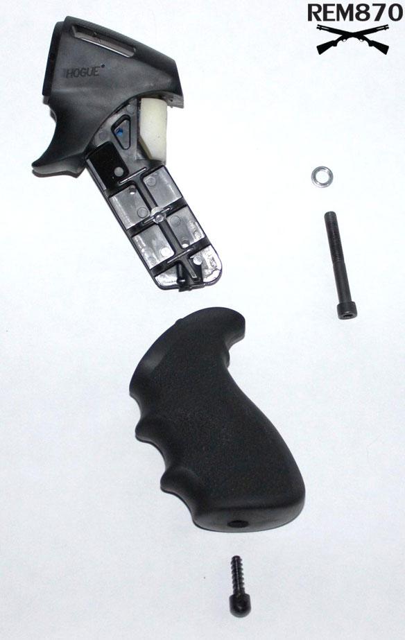Hogue Tamer Pistol Grip, Exploded