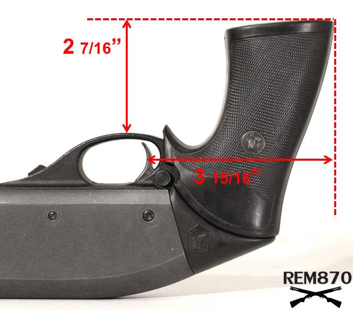 Pachmayr Vindicator Grip Measurements