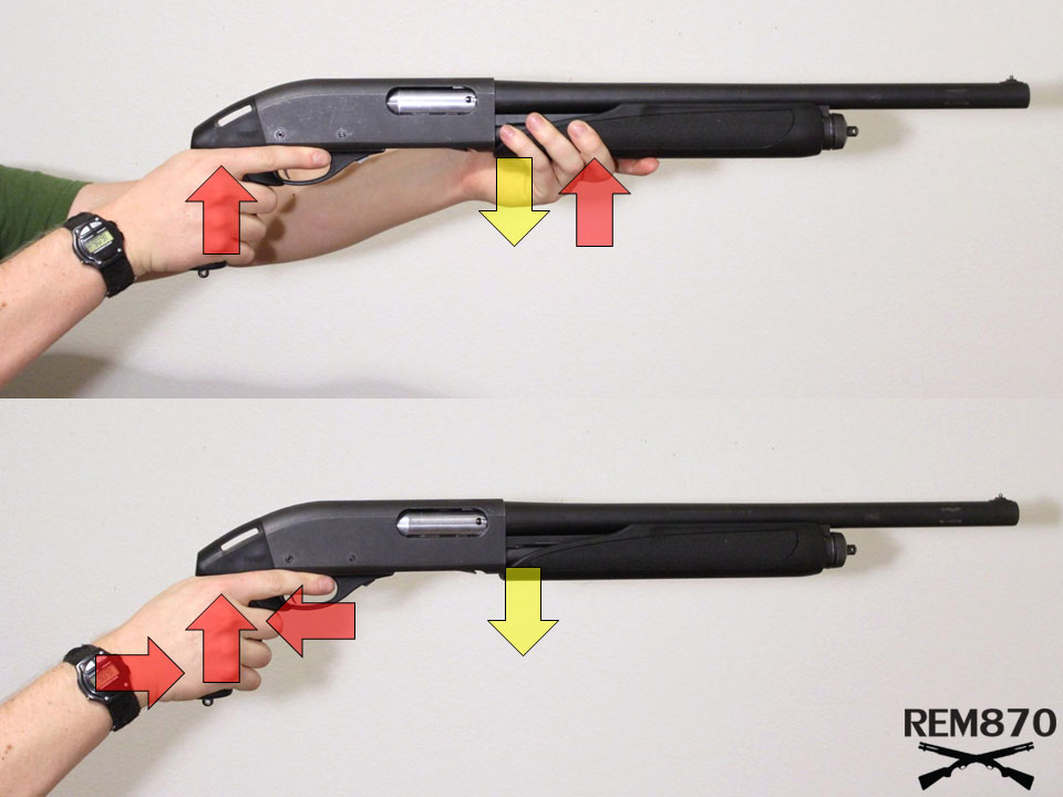 Pistol Grip Force Diagram