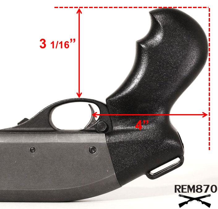 TacStar Pistol Grip Dimensions