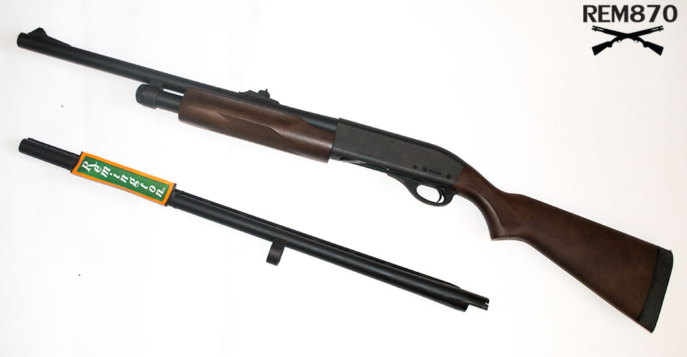 I Got the New Remington 870 Combo for Practical Shooting