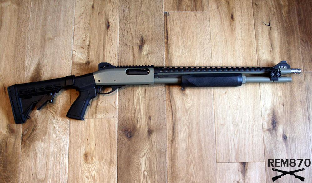 20 Gauge Remington 870 for Home Defense