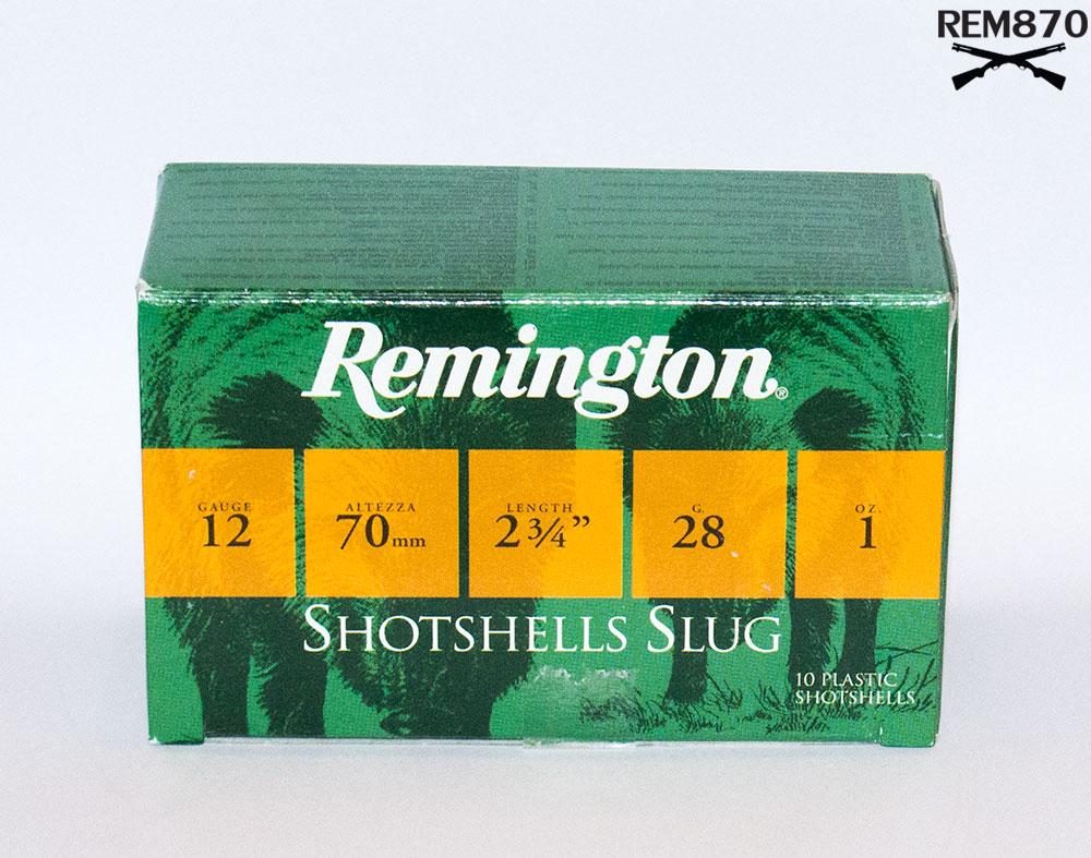 Box of Remington Slugs
