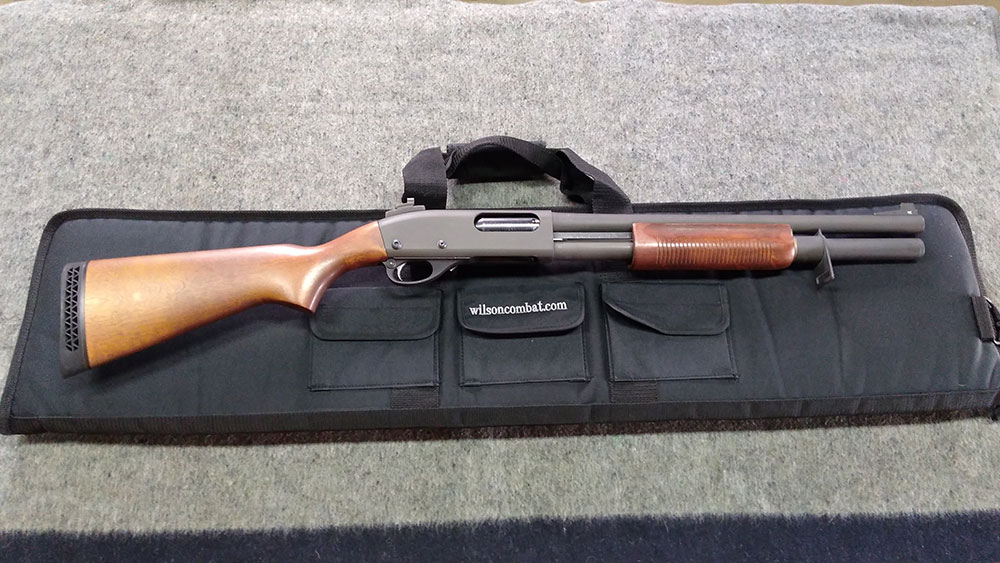 Remington 870 Police Upgrades