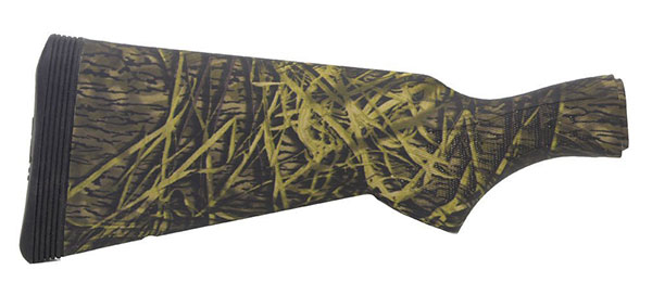 Mossy Oak Shadow Grass Camo finished stock