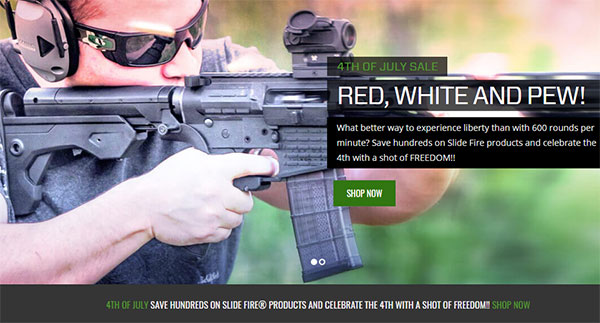 SlideFire - Bump Fire Stocks Discounts