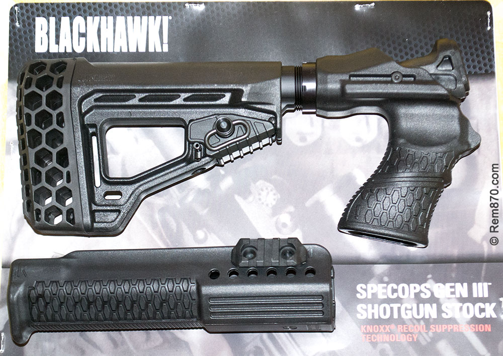 Knoxx SpecOps Stock Gen III for Remington 870