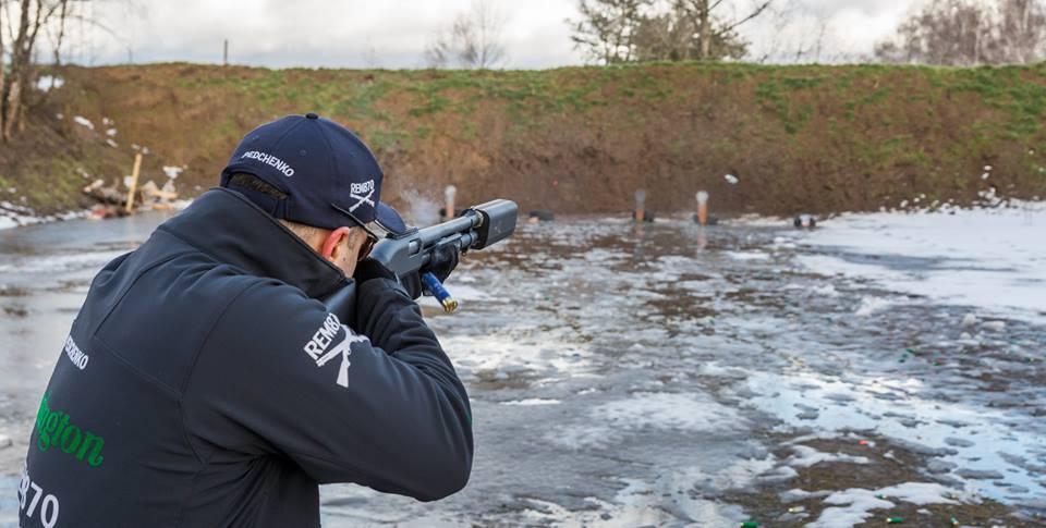 A-Tec A12 Shotgun Silencer/Suppressor on Remington 870 Tactical