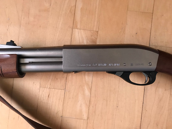 Remington 870 Police Marine Magnum with Upgrades