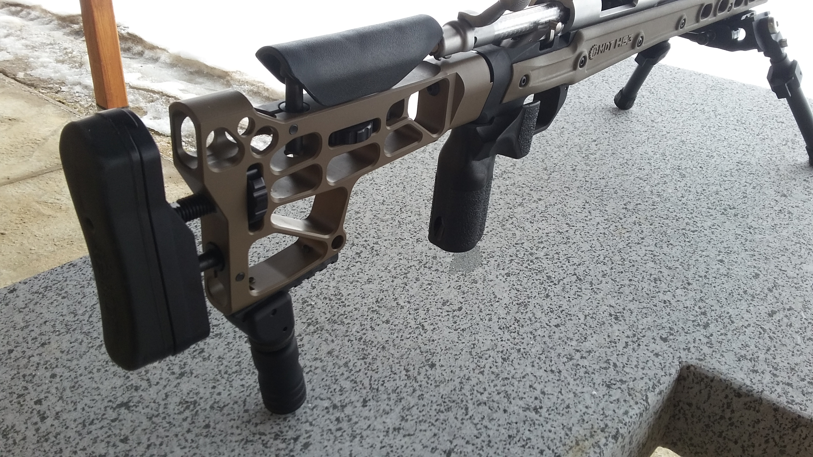 Remington 700 SPS with MDT (Modular Driven Technologies) HS3 LA Stock Chassis