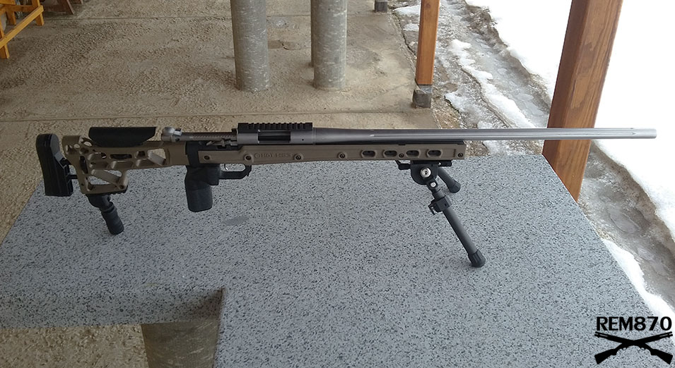 Remington 700 SPS with MDT (Modular Driven Technologies) HS3