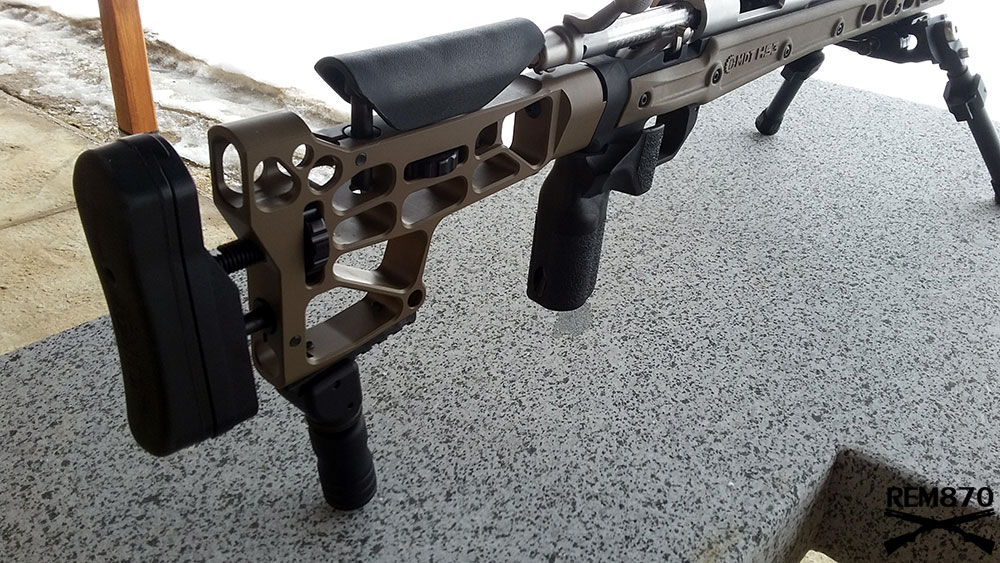 MDT (Modular Driven Technologies - Remington 700 HS3 LA Stock Chassis