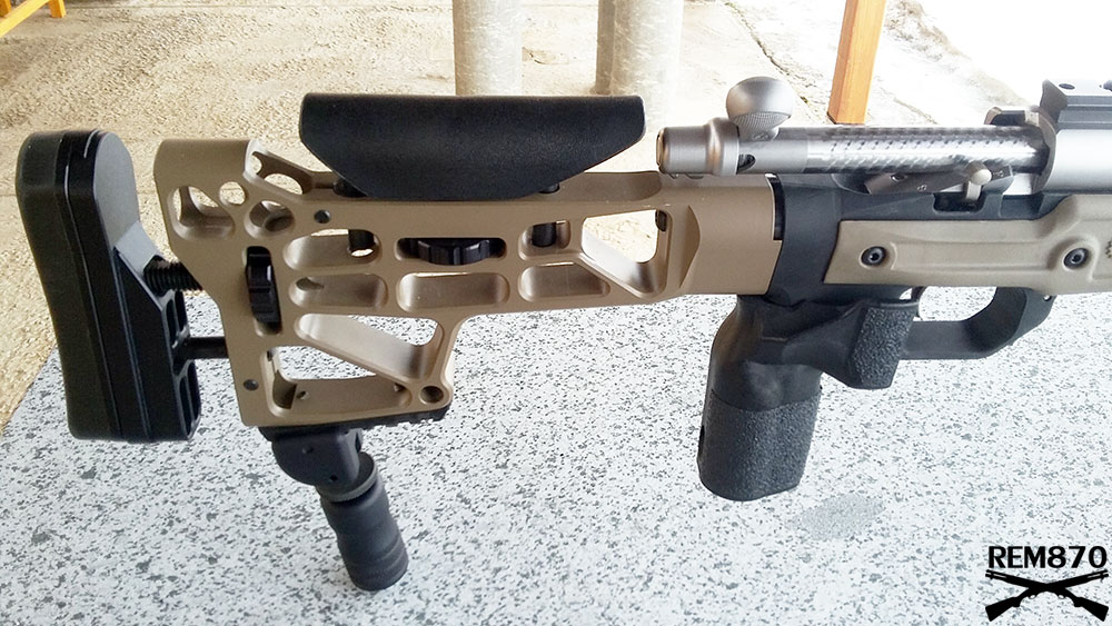 Remington 700 SPS with MDT (Modular Driven Technologies) HS3 LA