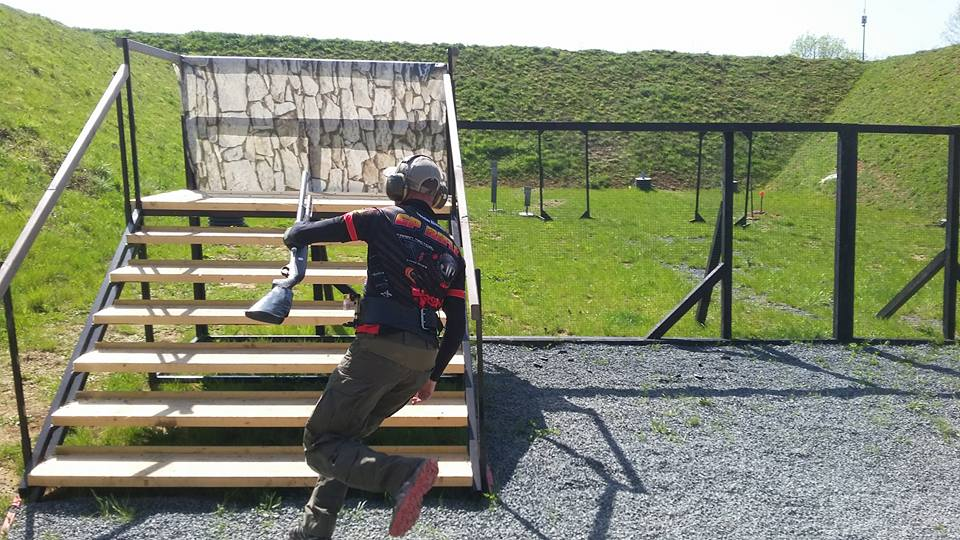 Decorations on the IPSC Shotgun Competition in France