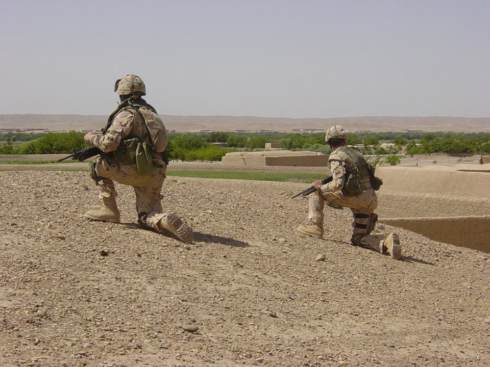 Remington 870 in Afghanistan, 2006