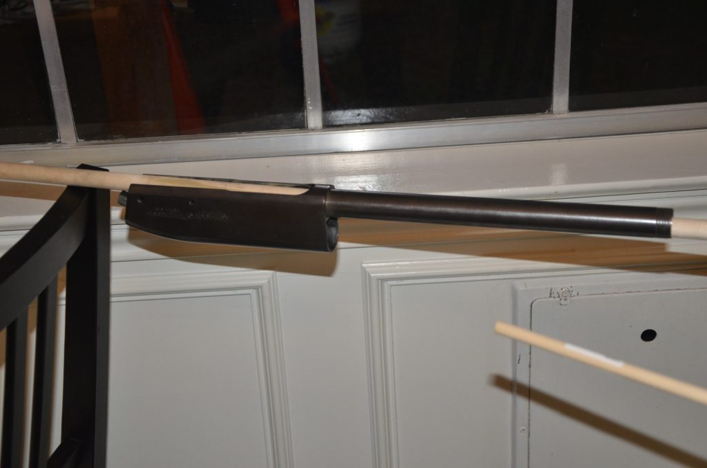 Remington 870 Barrel After One Application