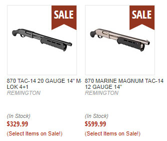 Remington 870 Tac-14, Order Online