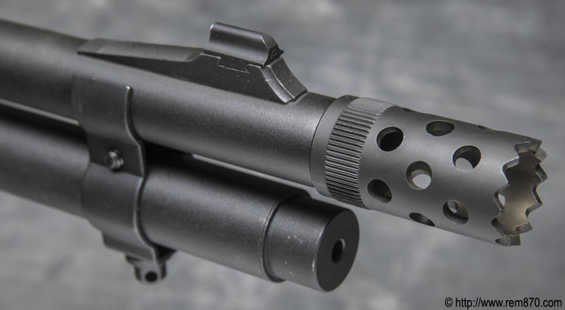 Remington 870 Tactical Muzzle Brake