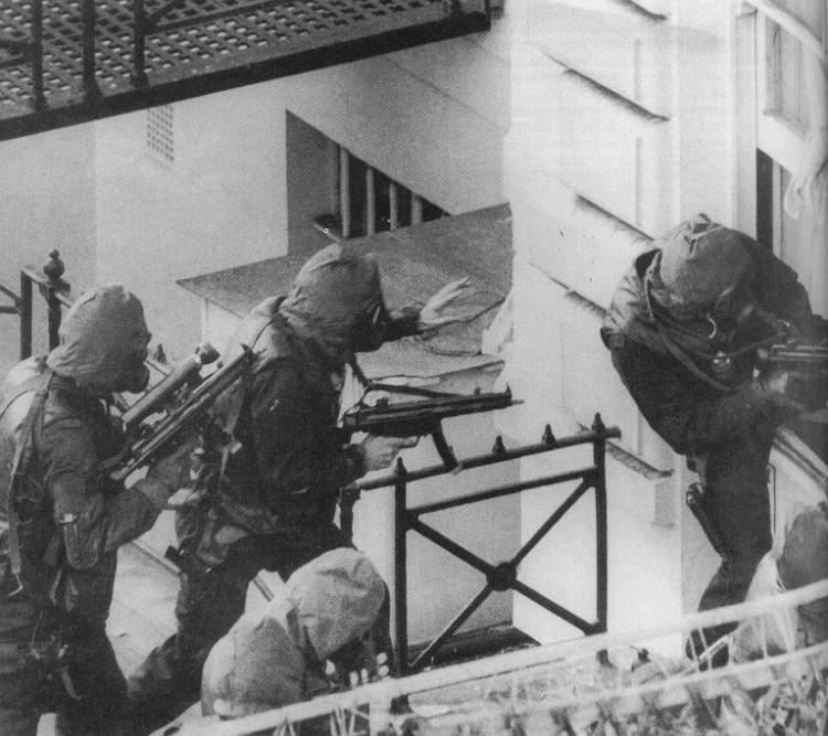 Operation Nimrod MP5