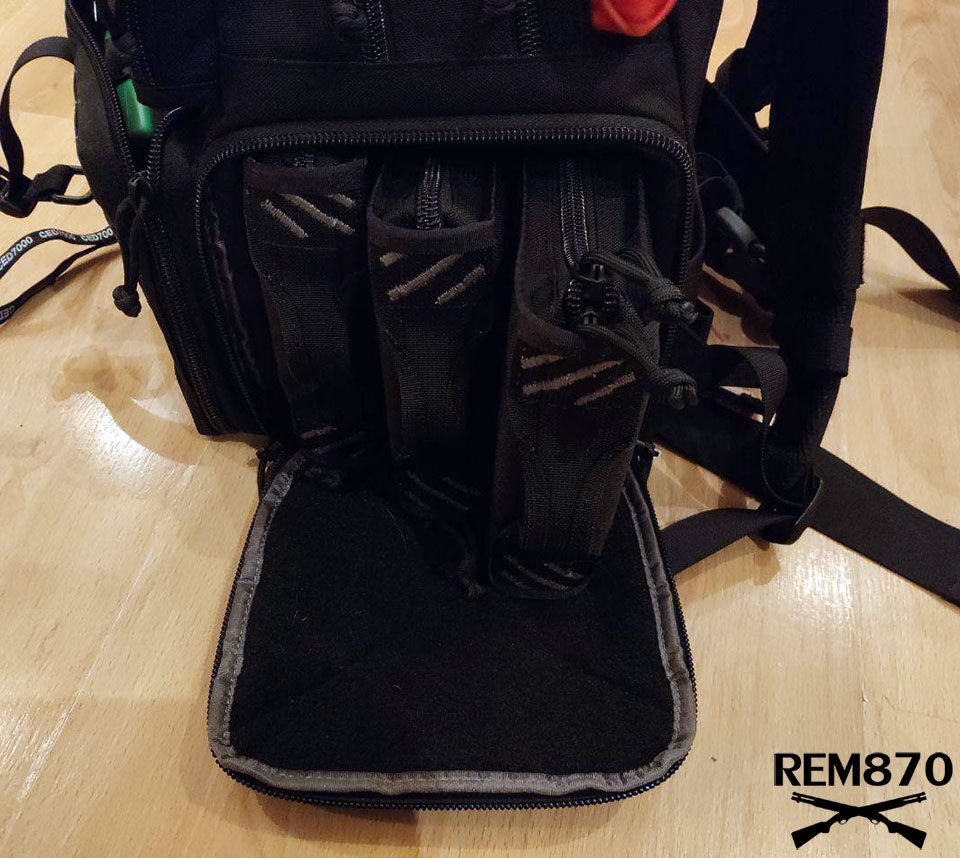 GPS Tactical Range Backpack Main Botton Compartment