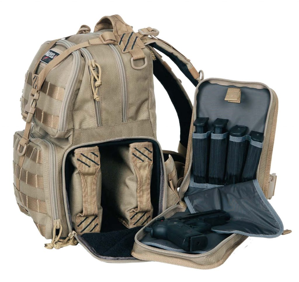 GPS Tactical Range Backpack, Coyote