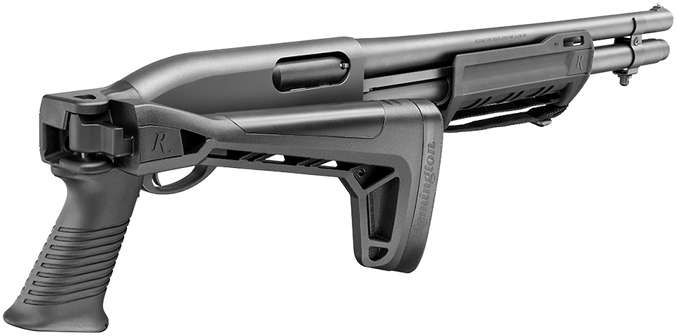 New Remington 870 side folder – All About Shooting