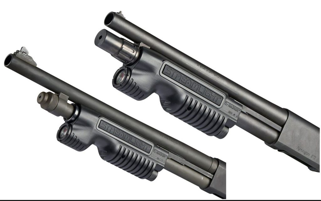 Streamlight TL-Racker Shotgun Forend Remington 870/1187 and Mossberg 500/590