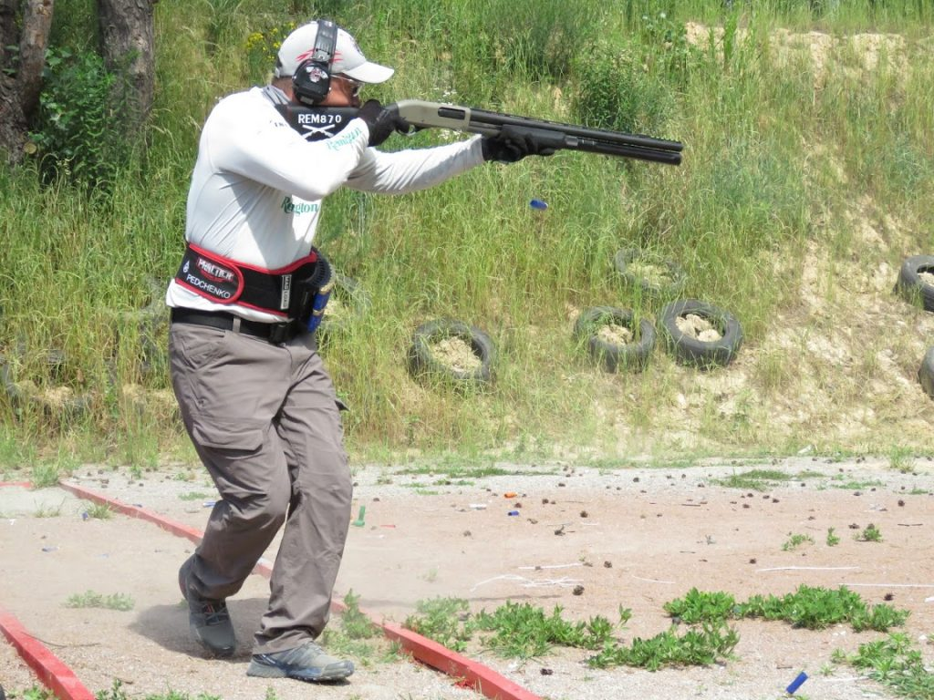 Ukraine Shotgun Open Remington 870