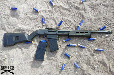 Remington 870 DM Magpul (with Detachable Magazines) Review