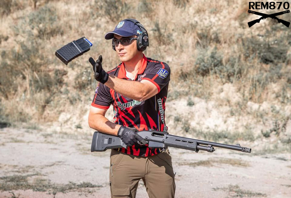 Remington 870 DM Magpul (with Detachable Magazines)