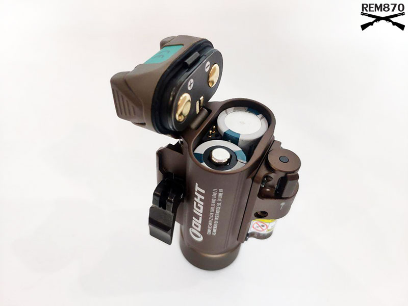 Olight Baldr Battery Compartment