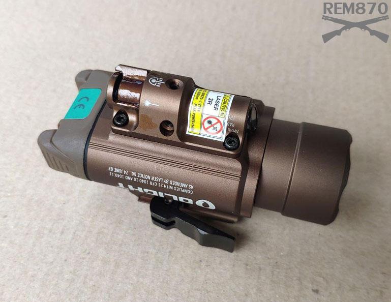 Olight Baldr Pro Flashlight/Laser Combo Review
