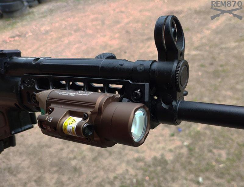 Olight Baldr Flashlight on MP5