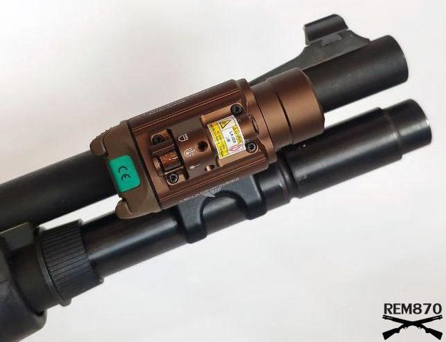 Olight Baldr Pro on Remington 870