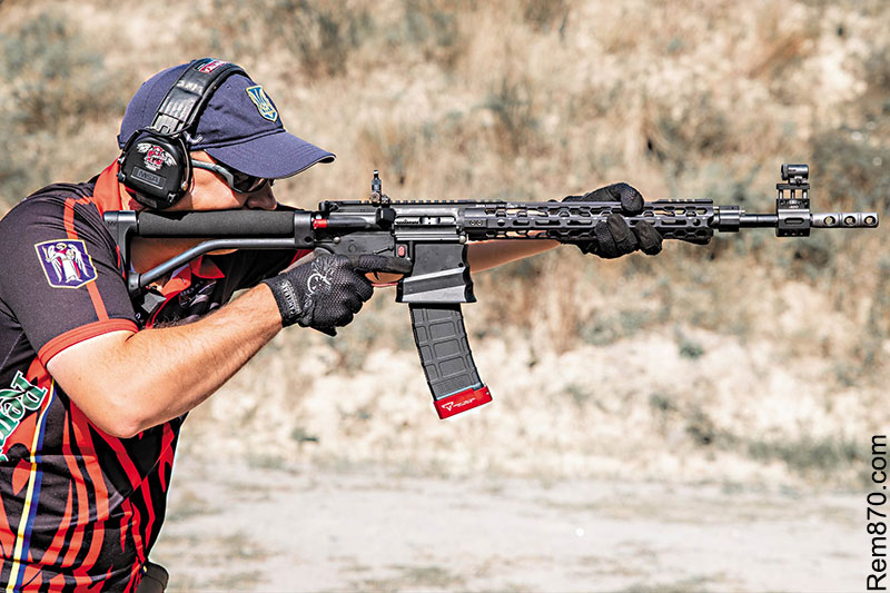 >IPSC (International Practical Shooting Confederation) Standard Rifle Division