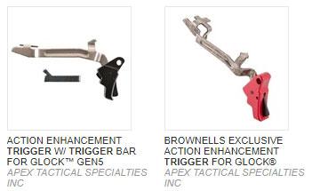 Glock Apex Trigger