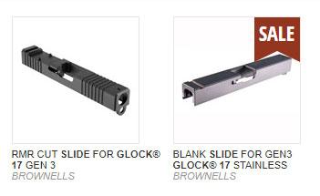Glock Custom Slide