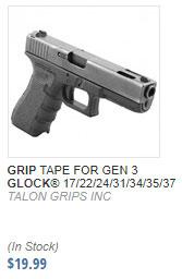 Glock Grip Tape