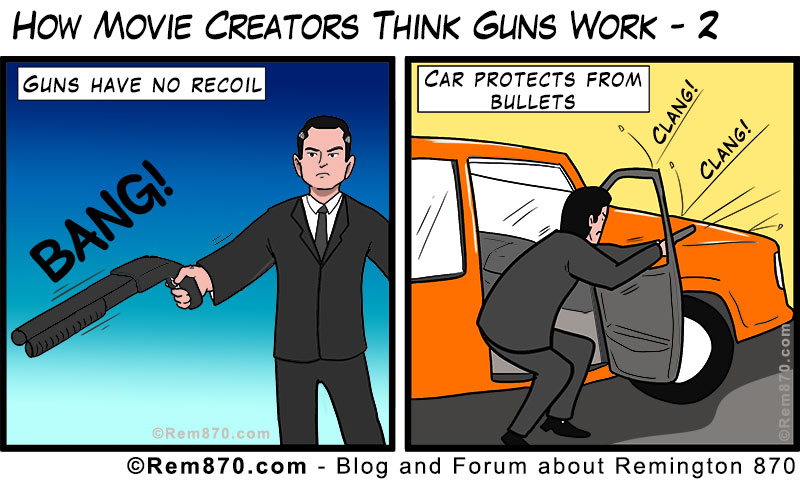 How Movie Creators Think Guns Work - 2