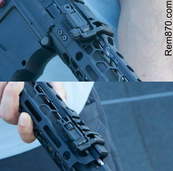 Magpul Pro Offset Sights Folded
